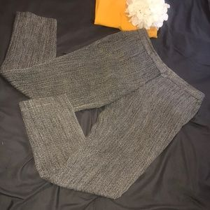 Vince Camuto gray black and white trousers